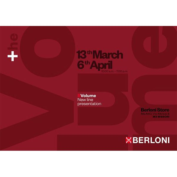 monday-march-13-and-again-on-april-6-will-be-held-the-event-for-the-presentation-of-the-new-line-bvolume-to-trade-at-berloni-store