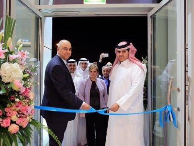 ​Sheikh Khaled bin Faisal Al Thani and Roberto Berloni, CEO of the Pesaro-based company, attended the opening ceremony.