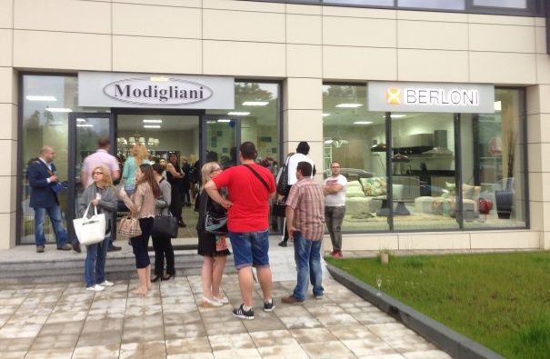 The Studio Modigliani, a new Berloni showroom has opened its doors in Sofia, the capital of Bulgaria, the third oldest capital city in Europe after Athens and Rome.